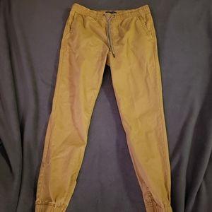 Aeropostale khaki jogger pants